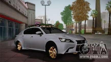 Lexus GS250 F for GTA San Andreas