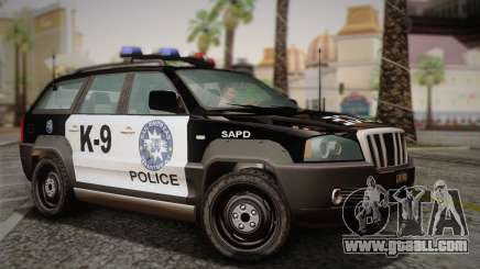 NFS Suv Rhino Light - Police car 2004 for GTA San Andreas