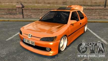 Peugeot 306 [RC] Unal Turan for GTA 4