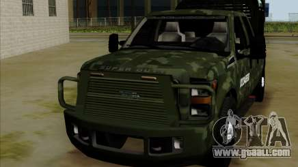 Ford F350 for GTA San Andreas