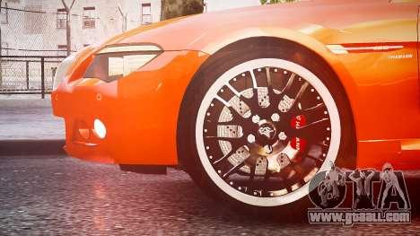 BMW M6 Hamann Widebody v2.0 for GTA 4