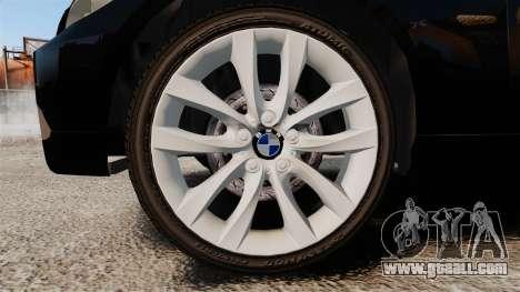 BMW 350i Japanese Police [ELS] for GTA 4 back view