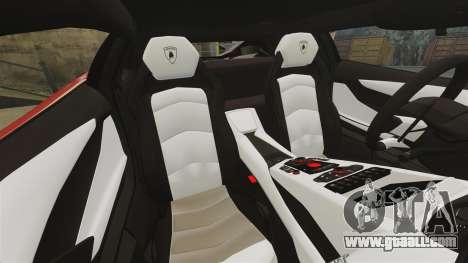 Lamborghini Aventador LP700-4 2012 [EPM] Miku for GTA 4 upper view