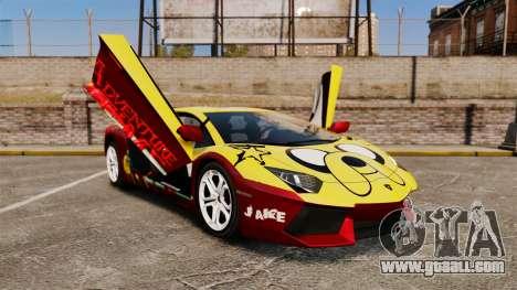 Lamborghini Aventador LP700-4 2012 [EPM] Jake for GTA 4 upper view