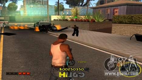 C-HUD Vagos by Hugo for GTA San Andreas forth screenshot