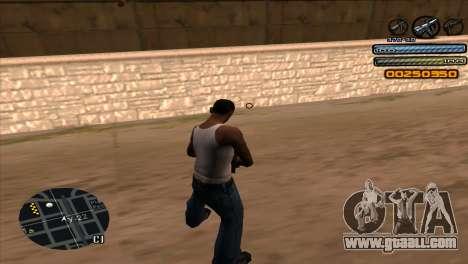 C-HUD Light for GTA San Andreas third screenshot