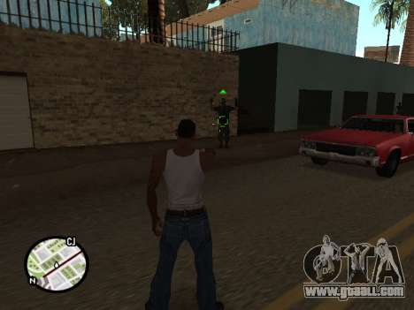 ProAim for GTA San Andreas second screenshot