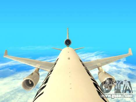 McDonnell Douglas MD-11 Continental Airlines for GTA San Andreas inner view