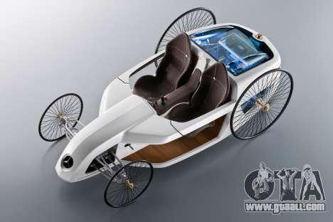 Boot screens Mercedes-Benz F-CELL Roadster for GTA 4 seventh screenshot