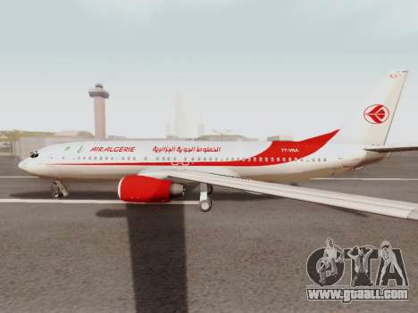 Boeing 737-800 Air Algerie for GTA San Andreas back left view