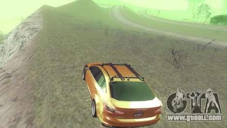 Ford Focus Sedan Hellaflush for GTA San Andreas back view