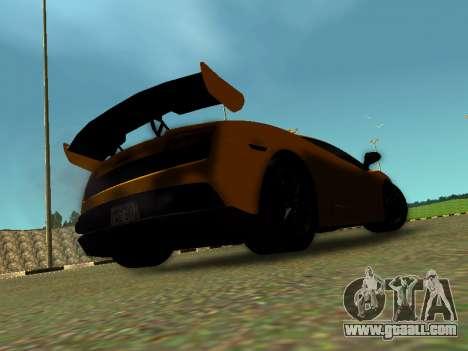 Lamborghini Gallardo Super Trofeo Stradale for GTA San Andreas left view
