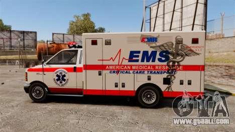 Brute Ambulance v2.1-SH for GTA 4 left view