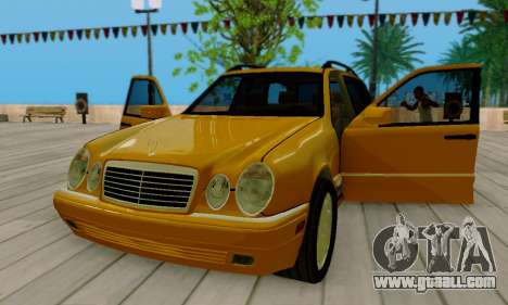 Mercedes-Benz E320 Wagon for GTA San Andreas side view