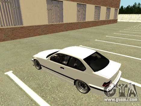 BMW M3 E36 Coupe for GTA San Andreas back view