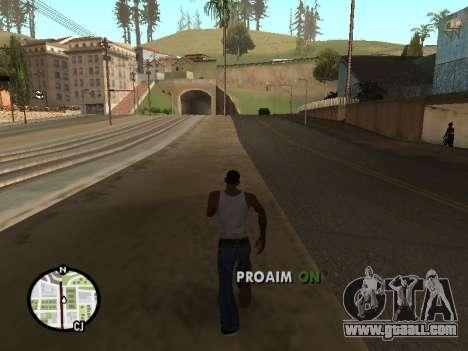 ProAim for GTA San Andreas