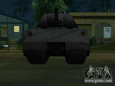 PzKpfw VII Maus for GTA San Andreas left view