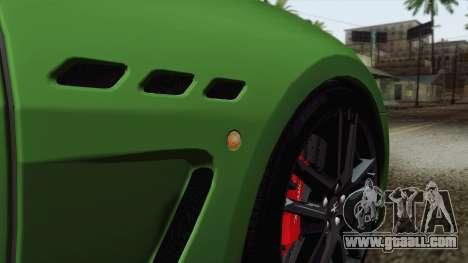 Maserati GranTurismo MC Stradale for GTA San Andreas interior