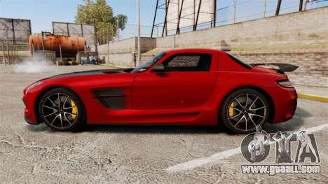 Mercedes-Benz SLS 2014 AMG GT Final Edition for GTA 4 left view