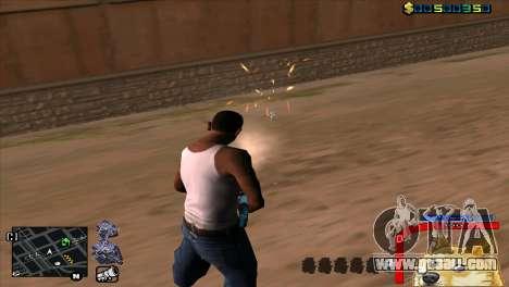 C-HUD Dog WOW for GTA San Andreas forth screenshot