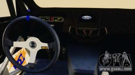 Ford Fiesta 2013 for GTA 4 inner view