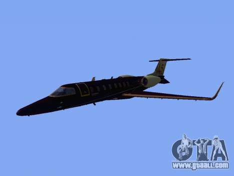 Bombardier Learjet 45 for GTA San Andreas left view