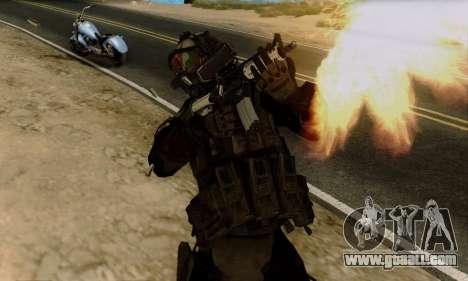 Kopassus Skin 2 for GTA San Andreas third screenshot
