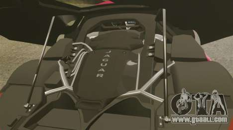 Jaguar C-X75 [EPM] for GTA 4 inner view