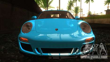 Porsche 911 Carrera GTS 2011 for GTA San Andreas inner view