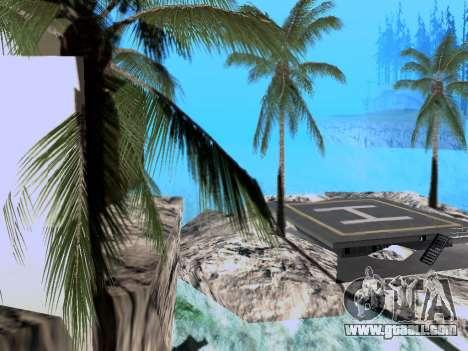New island V2.0 for GTA San Andreas second screenshot