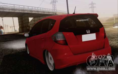 Honda Jazz RS DUB 2010 for GTA San Andreas left view