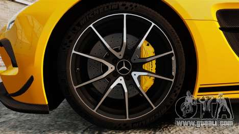 Mercedes-Benz SLS 2014 AMG Performance Studio for GTA 4 back view