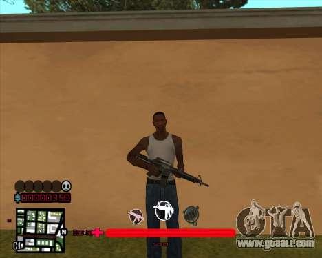 C-HUD would Mario_Nostra for GTA San Andreas