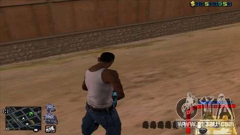 C-HUD Dog WOW for GTA San Andreas second screenshot