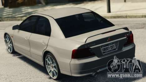 Mitsubishi Galant8 VR-4 for GTA 4 left view