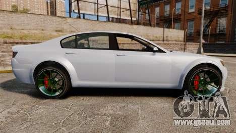 GTA V Cheval Fugitive new wheels for GTA 4 left view