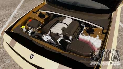 Dodge Challenger SRT8 2009 [EPM] APB Reloaded for GTA 4 inner view