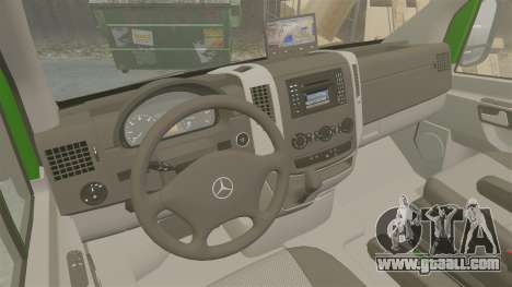 Mercedes-Benz Sprinter 2500 2011 Hungarian Post for GTA 4 inner view