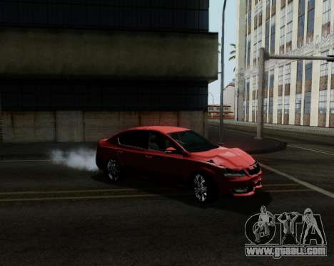 Skoda Octavia A7 for GTA San Andreas wheels