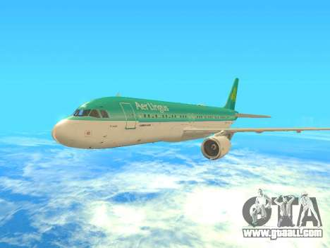 Airbus A320-200 Aer Lingus for GTA San Andreas