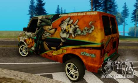 Ford E-150 GT-Shop for GTA San Andreas left view
