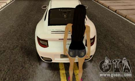 Jack Daniels Girl Skin for GTA San Andreas third screenshot