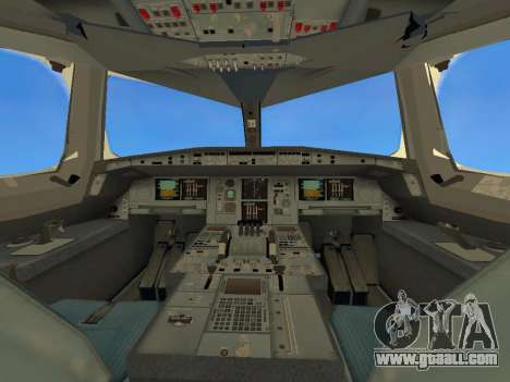 Airbus  A380-800 Sichuan Airlines for GTA San Andreas upper view