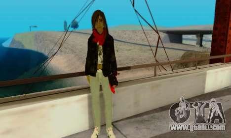 Kim Kameron for GTA San Andreas