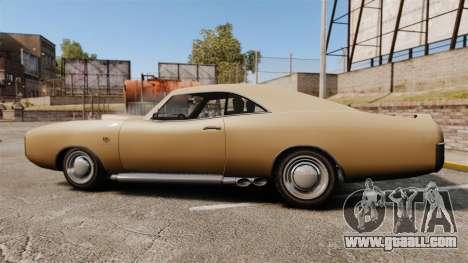 Imponte Dukes new wheels for GTA 4 left view