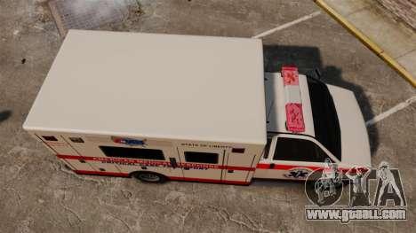 Brute Ambulance v2.1-SH for GTA 4 right view