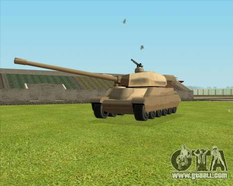 Rhino tp.JSF for GTA San Andreas left view