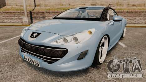 Peugeot RCZ for GTA 4