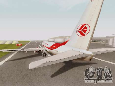 Boeing 737-800 Air Algerie for GTA San Andreas right view