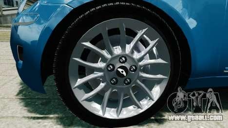 Hyundai Genesis V6 Sedan for GTA 4 right view